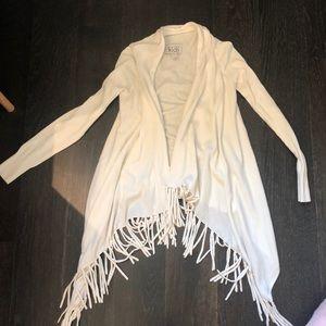 Other - Girls White sleeve Cardigan